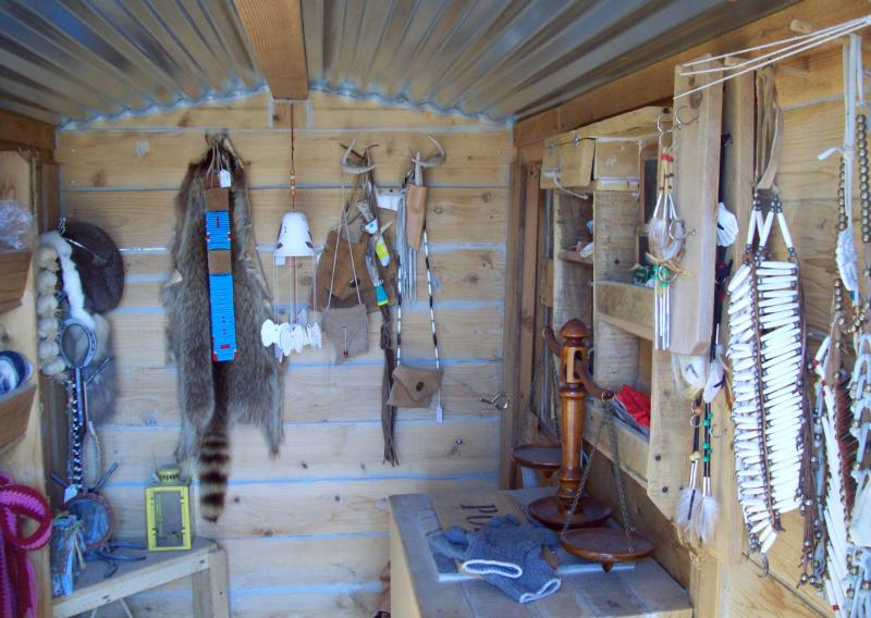 Inside the Trading Post
